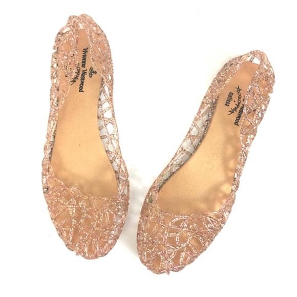 8e59018ca81aa Vivienne Westwood Shoes | Melissa Jelly Flats Light Pink | Poshmark